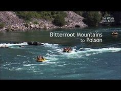 Montana from Above - Our Best 5 Amazing Locations from Bitterroot Mountains to Polson (HD) - YouTube