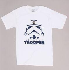 UC Irvine Storm Trooper Tee - White