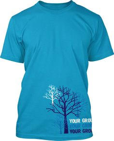 Tree Youth Group Shirt Design