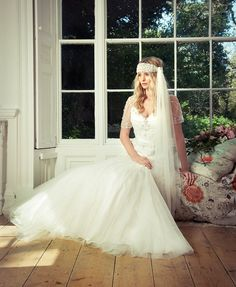 Charlotte Balbier's Cara Gown in ONE1 bridal, Cardiff