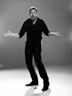 Hugh Laurie photoshoot!