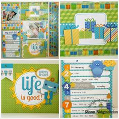 Hip Hip Hooray: Simply Put Project Life-type Scrapbooking with Doodlebug by Sharm