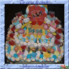 tARTA DE CHUCHES CUMPLEAÑOS CON FOTO. SIN GLUTEN. www.tucasitadechuches.com