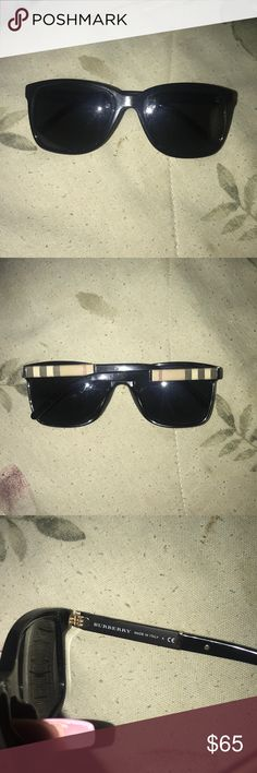 600650e187ce Shop Men s Burberry Black Brown size OS Glasses at a discounted price at  Poshmark. Description  Authentic Mens Gently used Burberry sunglasses.