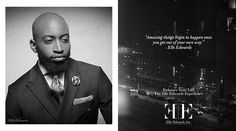 "This marks the beginning of this Elle Edwards campaign reintroducing you all to the elegant and timeless luxury lifestyle brand Elle Edwards Inc. Consultant at Work. ""Enhance Your Life"" - The Elle Edwards Experience. #lifestyle #elleedwards #fashion #guys"