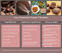 Organic Valentines Day Chocolates
