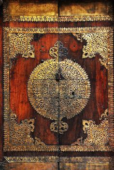 Door, of the Mosque of Barquq, Cairo, Egypt / by David Lewis