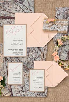 Peach Rustic Wedding Ideas From Love Polka Dots