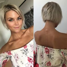 There is 49 Super Easy Prom Hairstyles to Try today in our boards. 49 Super Easy Prom Hairstyles to Try maybe will be your best pin ideas for today. Short Choppy Hair, Short Blonde, Short Hair Cuts, Blonde Hair, Short Hairstyles For Women, Pretty Hairstyles, Easy Hairstyles, Trendy Haircuts, Prom Hairstyles