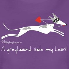 Greyhound heart women's t shirt - Women's Premium T-Shirt