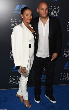 White hot: The 40-year-old America's Got Talent judge Mel B opted for an androgynous look ...