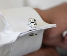 Stormtrooper Cufflinks. These are so cool!
