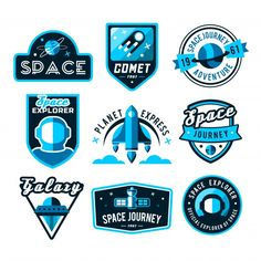 Find Vintage Space Astronaut Badges Labels Set stock images in HD and millions of other royalty-free stock photos, illustrations and vectors in the Shutterstock collection. Badge Design, Logo Design, Graphic Design, Planet Express, Typography Letters, Lettering, Vector Logos, Badge Logo, Ar Logo