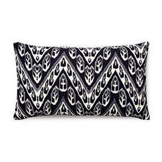 Divine Designs Chevron Ikat Mauve Decorative Throw Pillow - AR-011-076