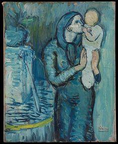 L'amore di mamma attraverso gli occhi di P.Picasso