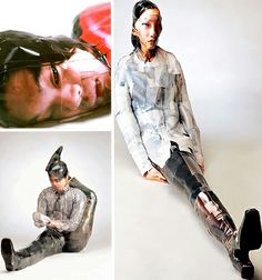 gwon-osang - photo sculpture