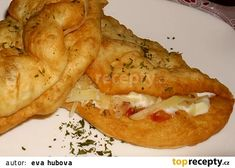 Slovak Recipes, Czech Recipes, Food 52, Nutella, Healthy Snacks, Easy Meals, Good Food, Food And Drink, Appetizers