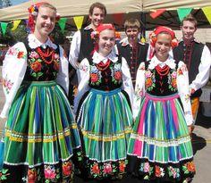 Beautiful regional costumes