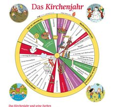 Informationen rund um das Kirchenjahr für Kirche, Kinderkirche, Schule
