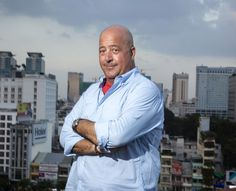 "Andrew Zimmern, Host of ""Bizarre Foods: Delicious Destinations"""