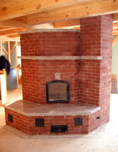 Brick Heater with Heated Bench