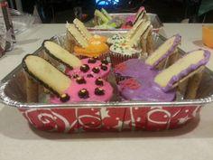 Jodi\u0026#39;s shower on Pinterest | High Heel Cupcakes, Milano Cookies ...