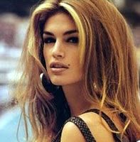 cindy crawford 90's | Hair Color Corner: Hair Highlighting – Chunky vs Ribbons