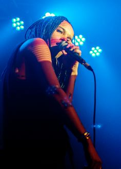 """celebritiesofcolor: """"Lolawolf performs on stage at Oslo on February 17, 2015 in London, United Kingdom """""""