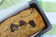 Best Zucchini Bread Ever - seriously.  I omitted the chocolate and it as still amazing.  Frozen muffins are perfect after 30 seconds in the microwave, and they make a quick breakfast on the go for the kiddies.