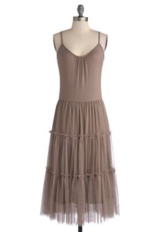 Proper At-tier Dress in Cocoa, #ModCloth