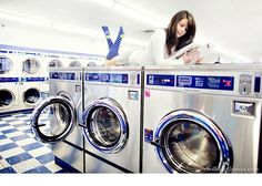 rachel from millie holloman photography Laundry Logo, Coin Laundry, Smelly Laundry, My Beautiful Laundrette, Laundry Shoot, Pose Reference Photo, Boudoir Poses, Poses For Pictures, Senior Girls