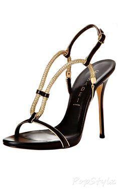 Casadei Grecian Leather Dress Sandal