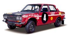 1970年に第18回サファリラリーで総合&チーム優勝