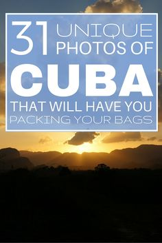 31 Unique Photos of Cuba That Will Have You Packing Your Bags. Check out these 31 unique photos which show an interesting side to this photogenic country. All Inclusive Beach Resorts, Caribbean Vacations, Vinales, Varadero, Cuba Beaches, Going To Cuba, Cuban Culture, Visit Cuba, Packing List For Travel
