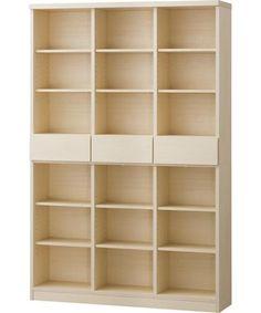ニトリ オープン書棚アデル  巾120/高さ181 cm 28,447円(税別)