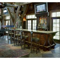 Eclectic Home Man Cave Design, Pictures, Remodel, Decor and Ideas