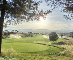 Hole 1 Golf Son Gual, Mallorca