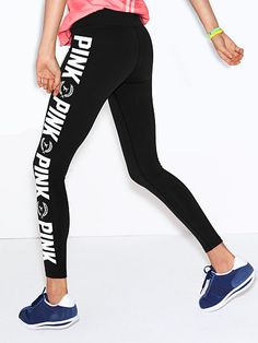 Printed Ultimate Yoga Legging PINK...have these....the best
