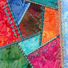 Molly Mine Embroidery Machine Designs | Simply Crazy Quilt 1 - Series 1