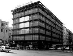 IT, Roma, Department store la Rinascente. Architect Franco Albini and Franca Helg, 1961.
