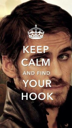Keep Calm and Find Your Hook