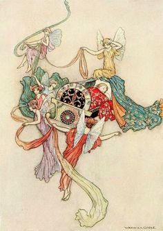 Ilustración clásica: Warwick Goble | RZ100 Cuentos de boca