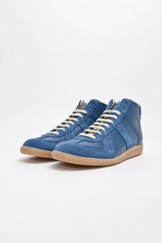 Maison Martin Margiela - Replica Sneaker Mid Blue