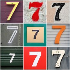 ! Penso, logo escrevo: 7, o numero perfeito