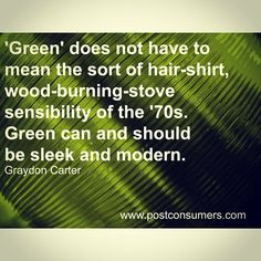 #QuoteoftheDay - The beauty of green