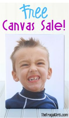 FREE 8x10 OR $40 off Any Custom Photo Canvas Sale! {+ s/h} ~ these make such great gifts, too!