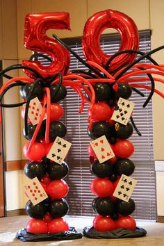 All out ballooning harlem nights theme party, casino night party, las vegas party, Casino Party Decorations, Casino Party Foods, Casino Theme Parties, Themed Parties, Fète Casino, Casino Royale, Las Vegas Party, Casino Night Party, Soirée James Bond