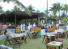 Lanche da tarde no Nannai Beach Resort.
