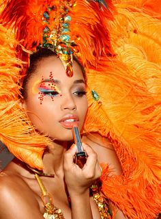 Trinidad Carnival is all about very beautiful and sensual women
