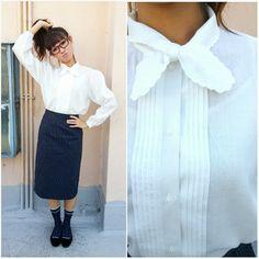 Etsy listing at https://www.etsy.com/listing/230907967/1960-vintage-blouse-school-mistress
